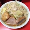 ラーメン二郎 - 料理写真:小ラーメン麺カタヤサイニンニクアブラ 700円