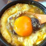 ワインカフェ京都烏丸 - 牛スジの煮こみセット(バケット付き)
