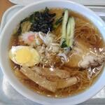 ひまわり - 料理写真:冷たいラーメン(大盛り)496円