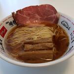極麺 青二犀 - にぼしょうゆらーめん(お持ち帰り)