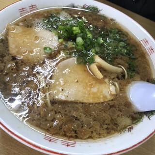 尾道ラーメン 味億 横川本店