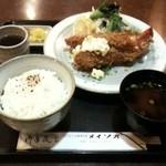 メイソオ - エビフライ定食