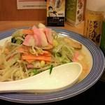 リンガーハット - '12/05/17 野菜たっぷりちゃんぽん(690円)
