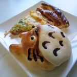 anan - 料理写真:トトロのクリームパン