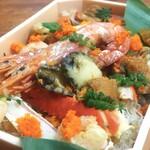 小松館好風亭 - 料理写真:贅沢海鮮御飯