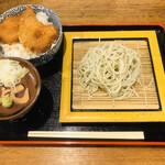 へぎそば昆 - ランチセット(1,180円~)
