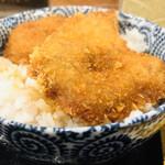 へぎそば昆 - ミニタレカツ丼