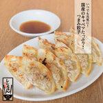 肉汁餃子と190円レモンサワー しんちゃん - しんちゃん応援めし!つまみ餃子の定食