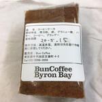 バン コーヒー バイロン ベイ - おばあちゃんのコーヒーケーキ 包装裏面