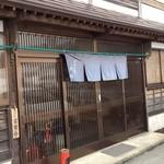 庄司そば - 入口