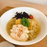 タシマキッチン - ちぢれ麺×冷やしかけ出汁