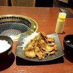 本格焼肉 カンゲン - しょうが焼き定食