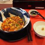 スパイス担担麺専門店 香辛薬麺 - ①担担 + ダイブめし