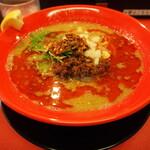 スパイス担担麺専門店 香辛薬麺 - ④マグロ節スープの担担麺