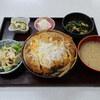 ゆたか食堂 - 料理写真:上かつ丼
