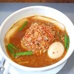 味世 - 料理写真:台湾ラーメン、チャーシュー特製味たま乗せ