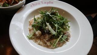 トラットリア シェ ラパン - 魚介のリゾット ビアンコ