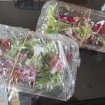 旬菜イチバ陣屋門 - セットのシーザーサラダ