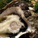 いち井 - 岩牡蠣・・貝柱を楽しむ・・