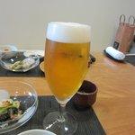 13002853 - 先ずはビールで乾杯です