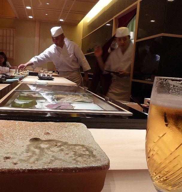 鮨 かねさか パレスホテル東京店