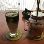 タムタム酵房 - 抹茶甘酒とジンジャエール