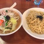 ラーメンねぎっこ - 料理写真:野菜つけ麺 味噌味