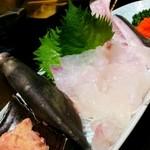 魚浜 - カワハギ刺し身