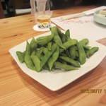 和座檜 - 茶豆です
