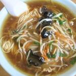 食堂信水 - 料理写真:もやしそば(大盛)