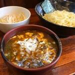 宮崎とんこつ 神楽 - 期間限定 牛肉カレーつけ麺
