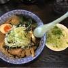 麺屋 青山 - 料理写真:らーめん にんにく油と特典のネギ