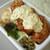 ボンバーキッチン - 別添えの「タルタルソース」をたっぷりオン!