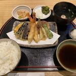 天麩羅 なか江 - 天婦羅定食