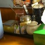 神戸ラーメン 第一旭 - 卓上調味料