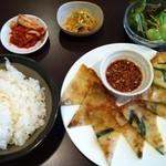 韓国料理 ソウル - チヂミ定食