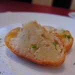 クオーコ・ディ・マーレ - ランチの前菜