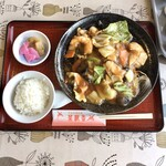 菜根香 - 八宝菜あんかけ焼そば ¥800