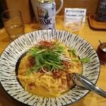 さっぽろ純連 - 胡麻の風味豊かな「汁なし担々麺」¥800