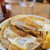 山口家 - 料理写真:ミニカツ丼&ミニもり あわせ 970円