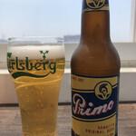 ルーフトップス - プリモビール 750円