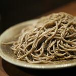 古窯庵 - 料理写真:粗挽き田舎☆