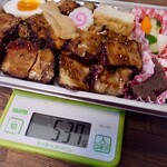 千味家 - 千味家チャーシュー弁当(700円)