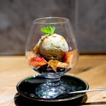 CACHETTE965 - ガトーショコラとピスタチオのアイス
