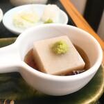 そば一仁 - そば豆腐