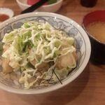 とんかつ小田保 - 鶏マヨ丼