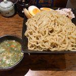 玄界灘ラーメン 博多あごや - つけ麺+味玉