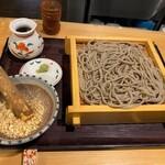130060125 - 香るつけ蕎麦 蕎麦花@苫小牧 木の実セイロ(920円)