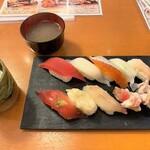 海天丸 - 料理写真:海天丸@苫小牧店 平日限定 ワンコイン ランチ(500円)