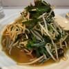 丸新 - 料理写真:レバニラ炒め定食